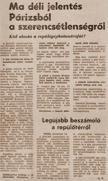 Korabeli hír   © AIRportal.hu