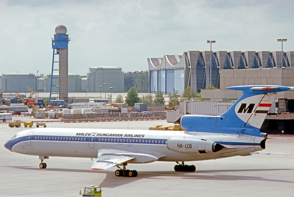 HA-LCB Frankfurtban 1977-ben. (Fotó: RuthAS - Wikimedia) | © AIRportal.hu