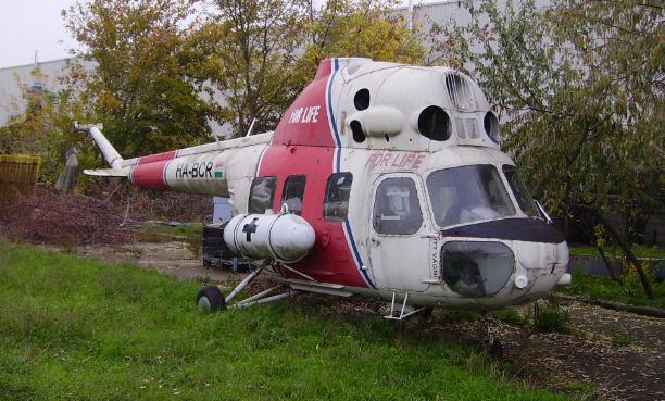 Az egykori For Life Mentőszolgálat helikoptere napjainkban | © AIRportal.hu