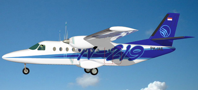 Az N-219-es látványterve. (Forrás: Indonesian Aerospace)   © AIRportal.hu
