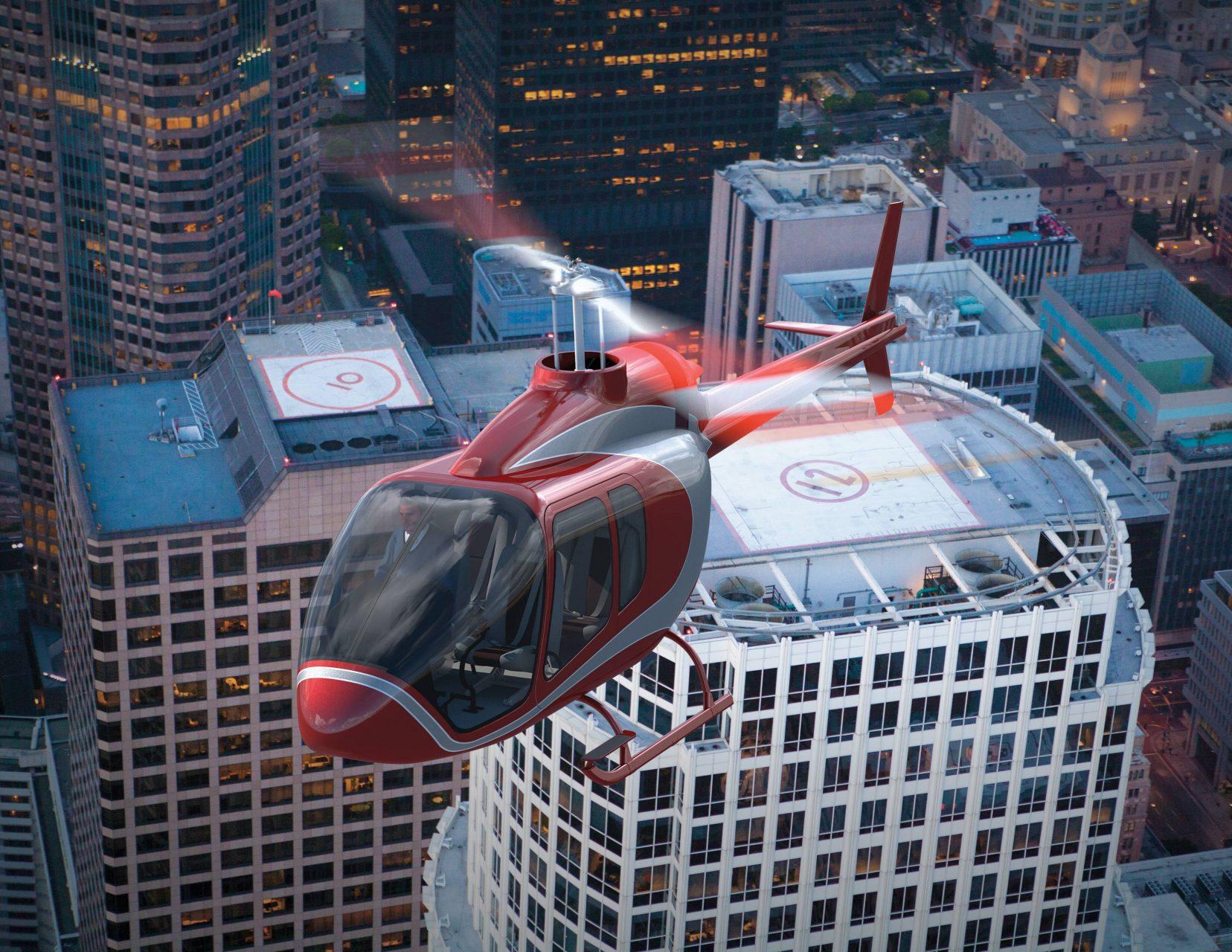 A Bell 505 Jet Ranger utasszállító kivitelének látványterve (Forrás: Bell Helicopters). | © AIRportal.hu