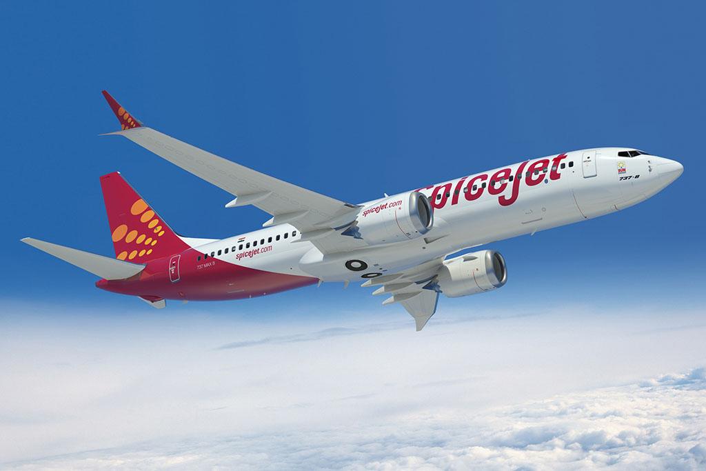 SpiceJet 737 MAX-8 számítógépes látványterv. (Forrás: Boeing Company) | © AIRportal.hu