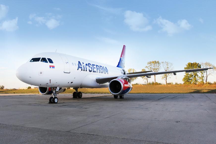 Az első Airbus A319 példányok egyike az Air Serbia kötelékében. A nagytestvér, az A320neo négy év múlva állhat szolgálatba a szerb légifuvarozónál. (Forrás: Air Serbia) | © AIRportal.hu