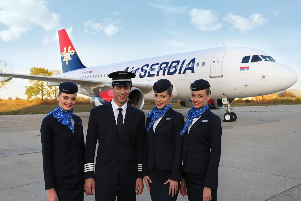 A kívül-belül megújult szerb nemzeti légitársaság megmenekült az Etihad kezei között. (Forrás: Air Serbia) | © AIRportal.hu