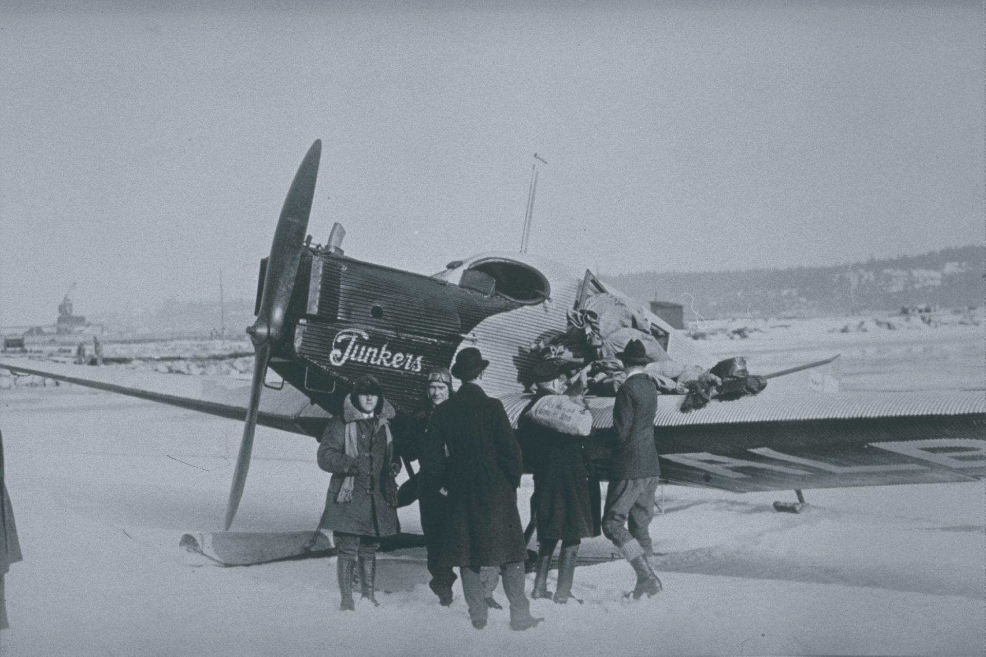 Az első fecske a Junkers F.13 hidroplán (Fotó: Finnair). | © AIRportal.hu