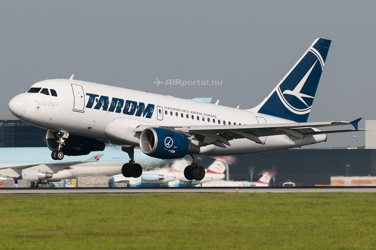 A TAROM Airbus A318-100 típusú repülőgépe. (Fotó: Bodorics Tamás - AIRportal.hu) | © AIRportal.hu