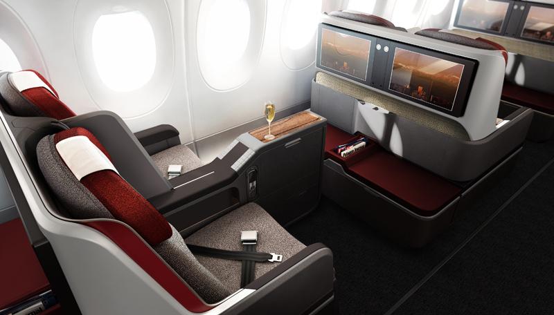 Az A350-es első osztály, kellemes utazást kínál. (Forrás: LATAM Group) | © AIRportal.hu