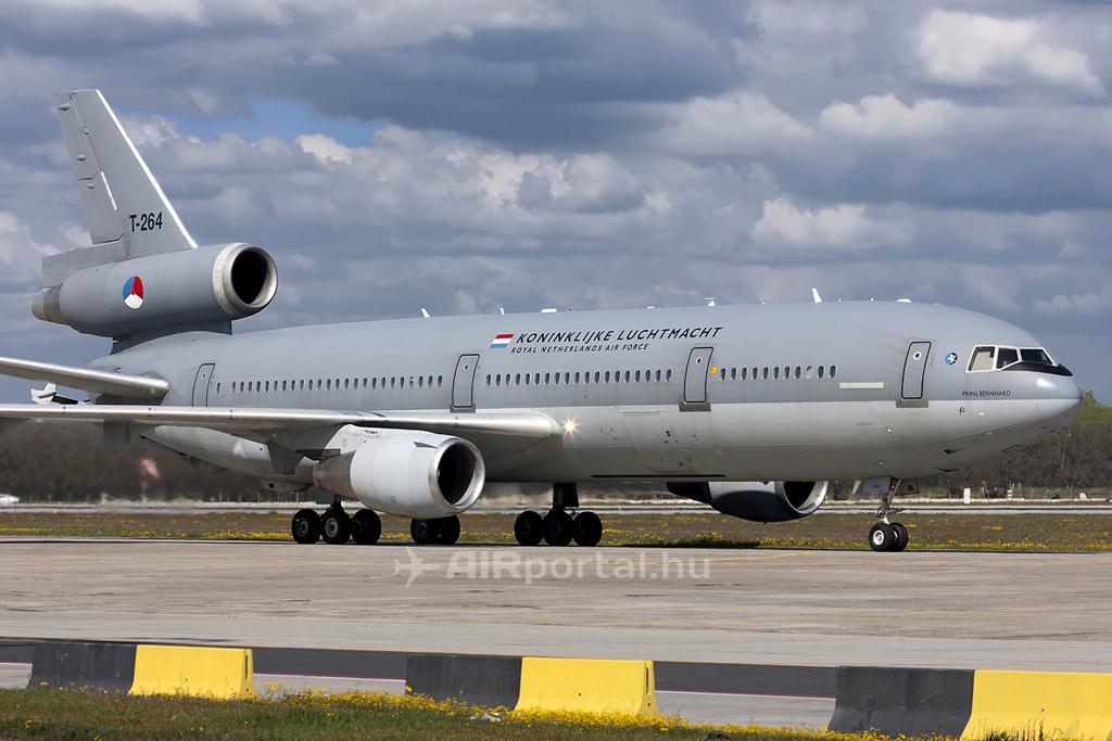 Ferihegyre érkezik a Holland Királyi Légierő KDC-10-ese. (Fotó: Mészáros Balázs - AIRportal.hu)   © AIRportal.hu