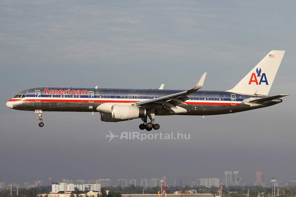 Az American Airlines Boeing 757-200-asai is búcsút intenek a flottának. (Fotó: Samu Ádám - AIRportal.hu) | © AIRportal.hu
