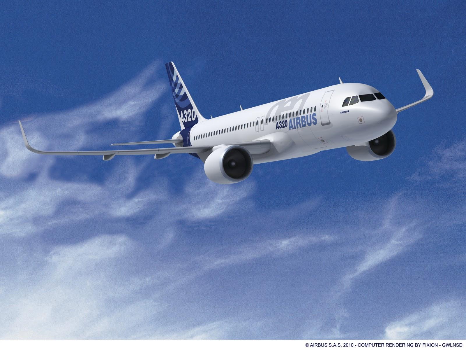 Grafikán az A320neo (Forrás: Airbus)   © AIRportal.hu