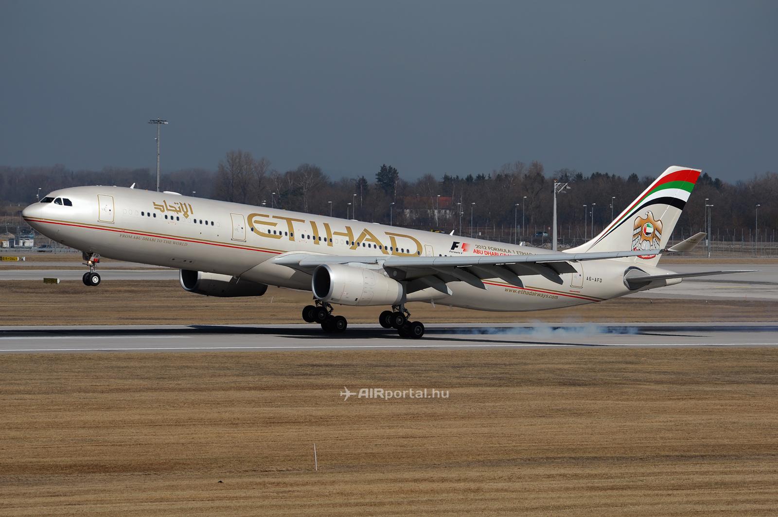 Várhatóan az Etihad Airways közvetítésével, vagy akár annak flottájából érkezhet az Air Serbia leendő Airbus A330-as repülőgépe. (Fotó: Kovács Gábor - AIRportal.hu) | © AIRportal.hu