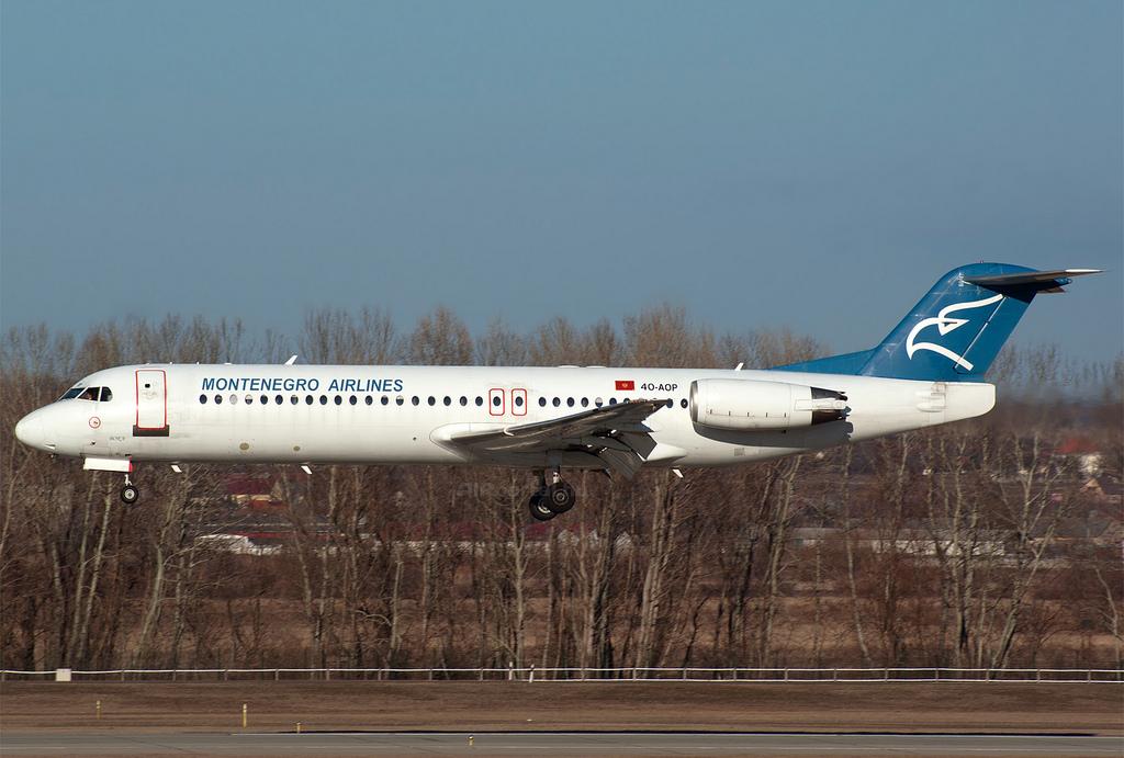 A Montenegro Airlines repülőgépei időnként Ferihegyen is megfordulnak. (Fotó: Szalmási Szabolcs - AIRportal.hu) | © AIRportal.hu