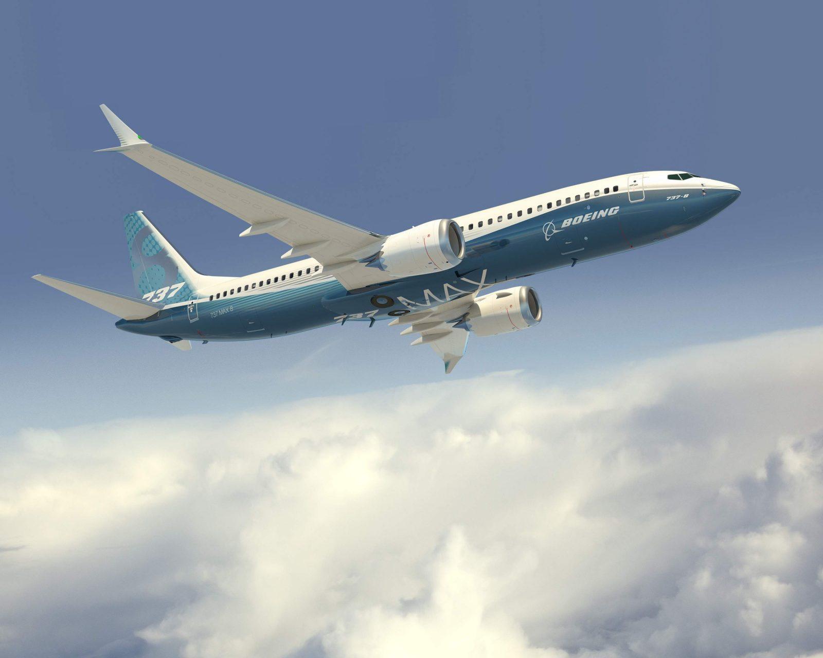 Boeing 737 MAX gyári festésben, a 9 Air ebből a változatból is rendelt flottája számára. (Forrás: Boeing Company) | © AIRportal.hu