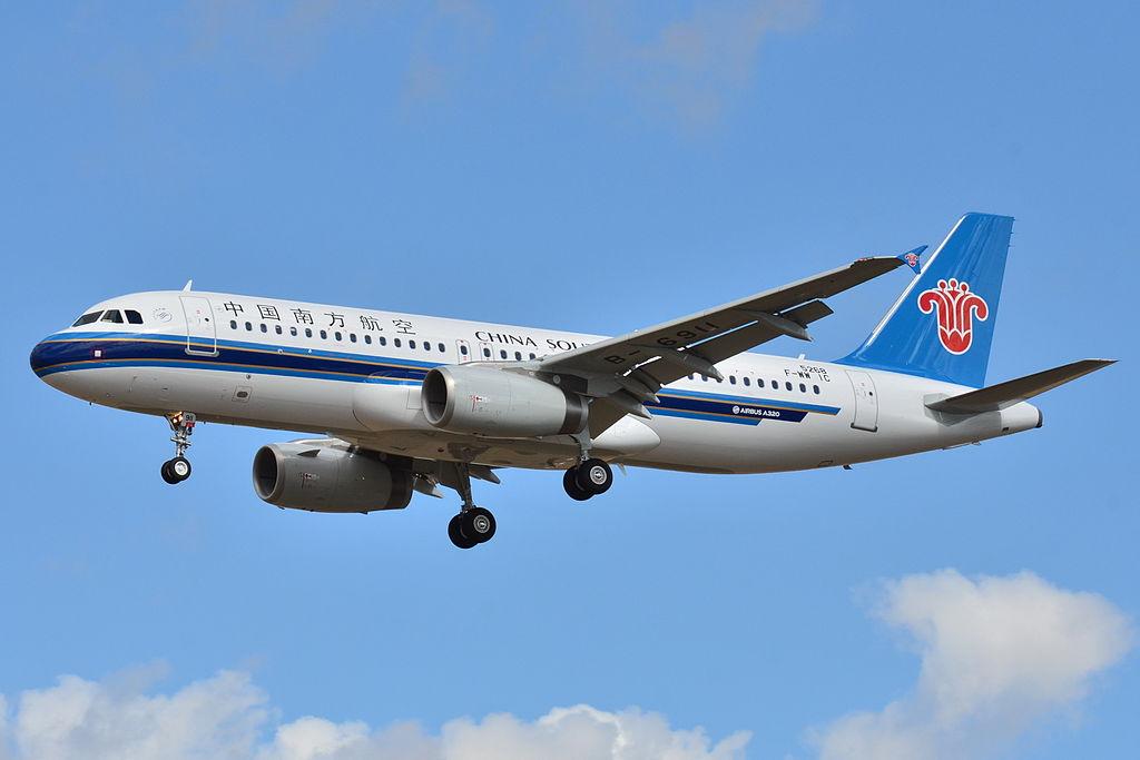 A China Southern egyik Airbus A320-as gépe, ezen a példányon az IAE V2500-as hajtóművek szolgáltatják a tolóerőt.(Forrás: Wikimedia - Laurent ERRERA) | © AIRportal.hu