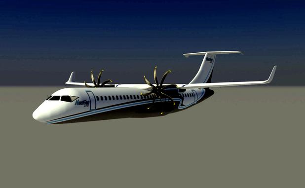Koncepciórajz az ATR 92-ről (Forrás: ATR) | © AIRportal.hu
