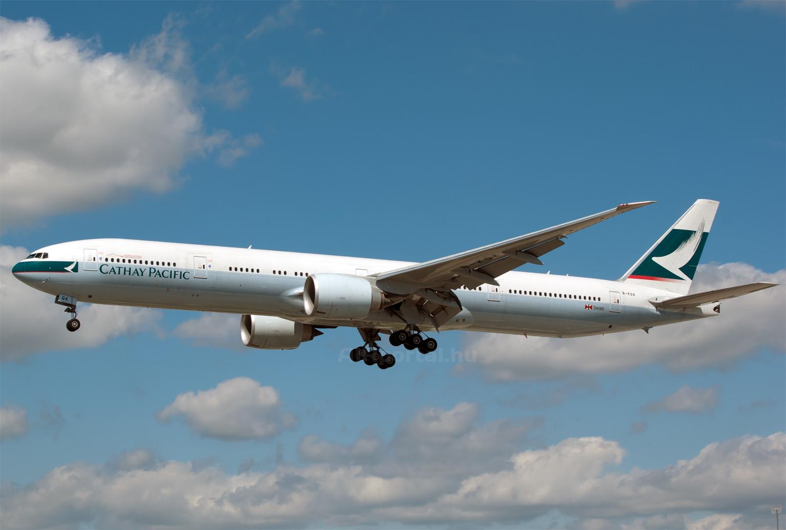 A társaság összesen 51 darab Boeing 777-300ER típusú repülőgépet üzemeltet. (Fotó: Szalmási Szabolcs - AIRportal.hu) | © AIRportal.hu