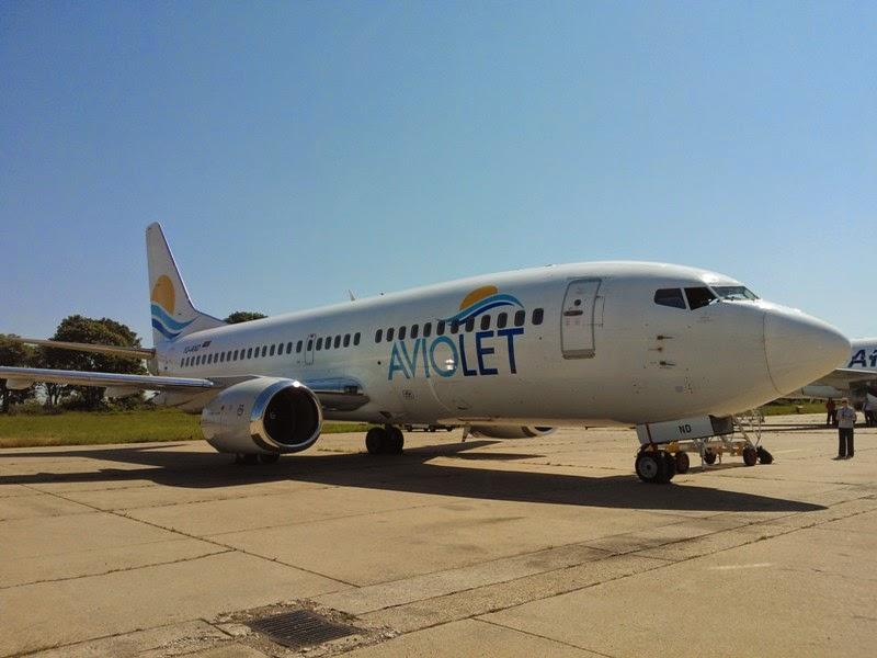 Az Aviolet első repülőgépe. (Fotó: Aviolet) | © AIRportal.hu