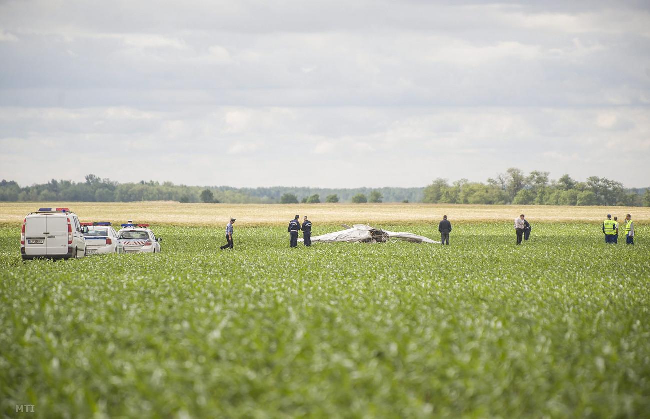 A repülőgép eltűnését csak hajnalban vették észre. (Fotó: Ujvári Sándor, MTI)   © AIRportal.hu