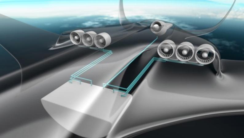 Az Airbus 2025-2030 körülre vizionálja a hibrid hajtást (Forrás: Airbus)   © AIRportal.hu