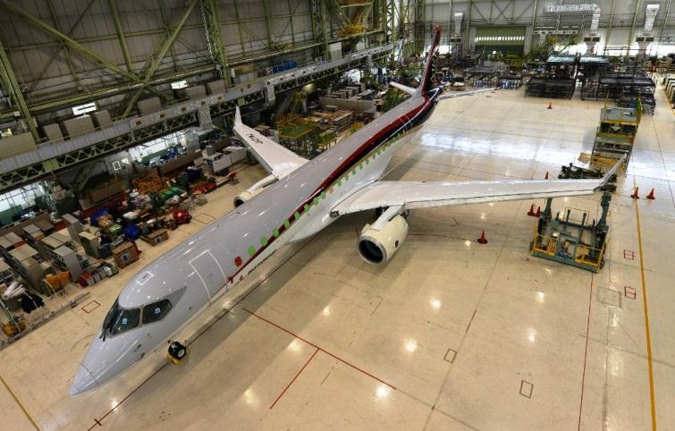 Egyre pofásabb (Forrás: Mitsubishi Aircraft) | © AIRportal.hu