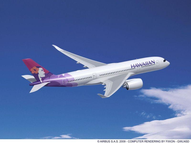 Valahogy így festett volna a rövid törzsű A350-es. (Forrás: Airbus)   © AIRportal.hu