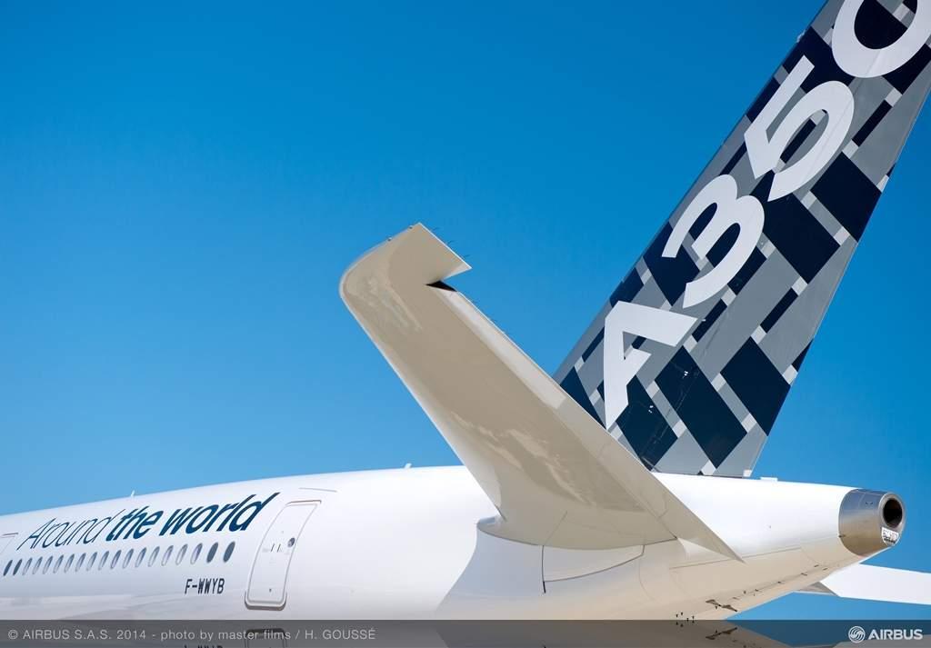 Így indult neki a 3 hetes turnénak az MSN5. (Fotó: Airbus) | © AIRportal.hu