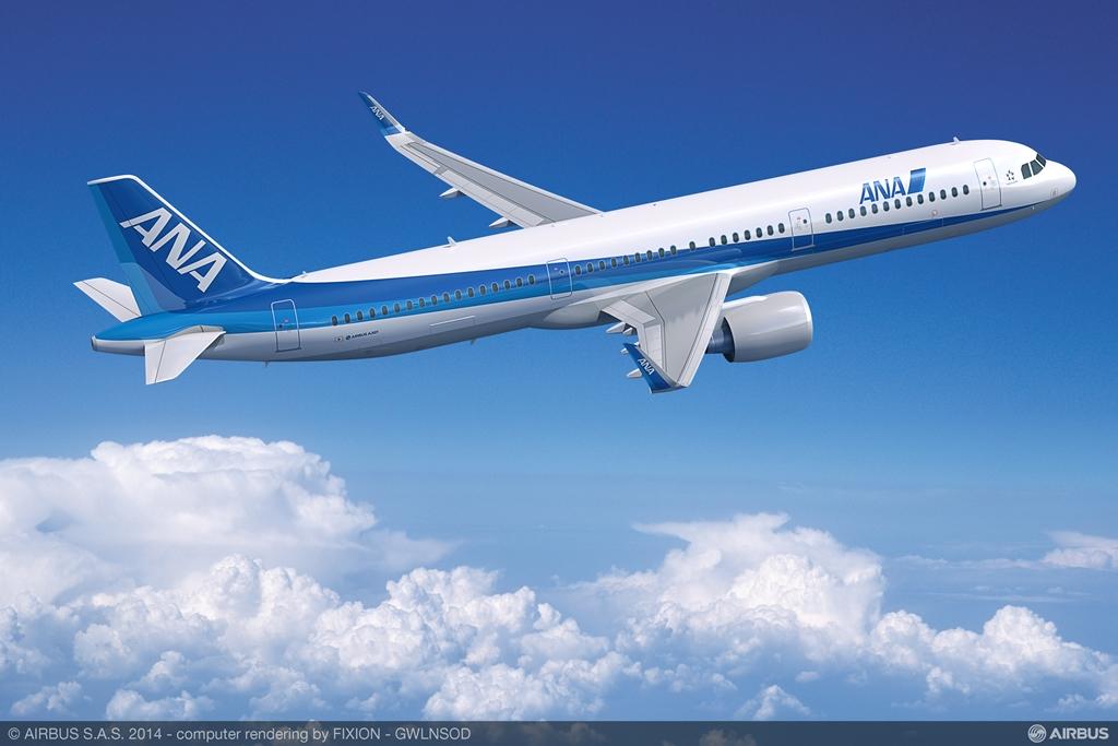 Airbus A321neo látványterv. (Forrás: Airbus)   © AIRportal.hu