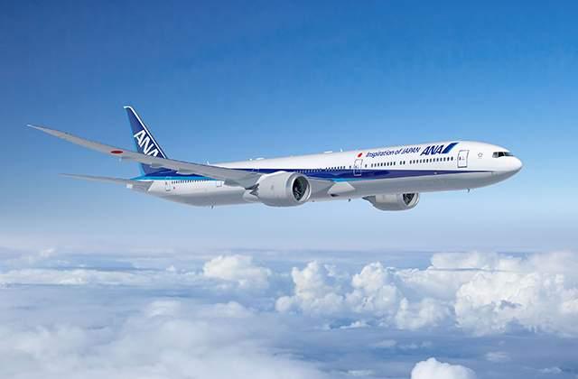 ANA B-777-9X látványterv. (Forrás: Boeing Company)   © AIRportal.hu