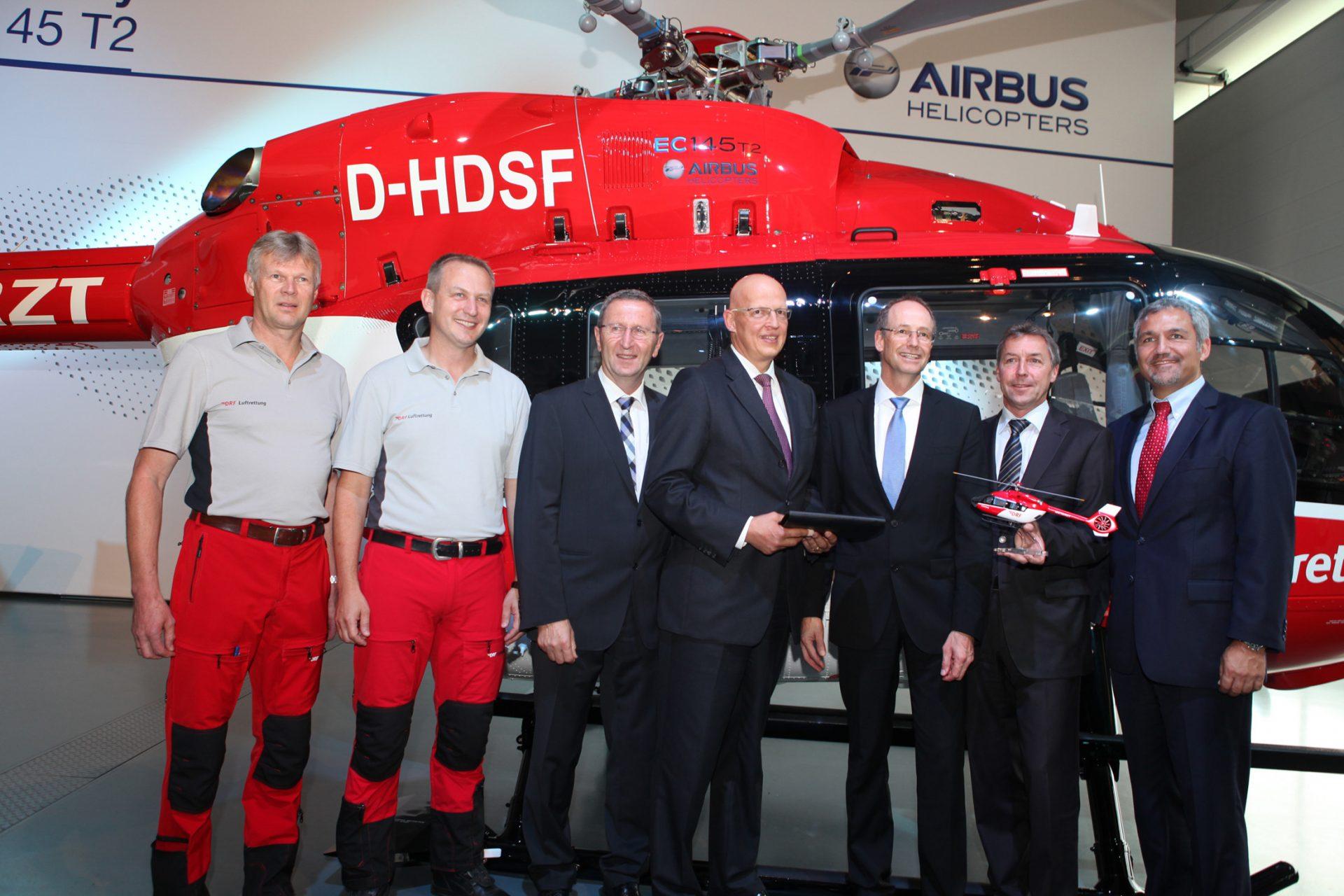 A helikopter ünnepélyes átadása. (Fotó: Airbus Helicopters) | © AIRportal.hu