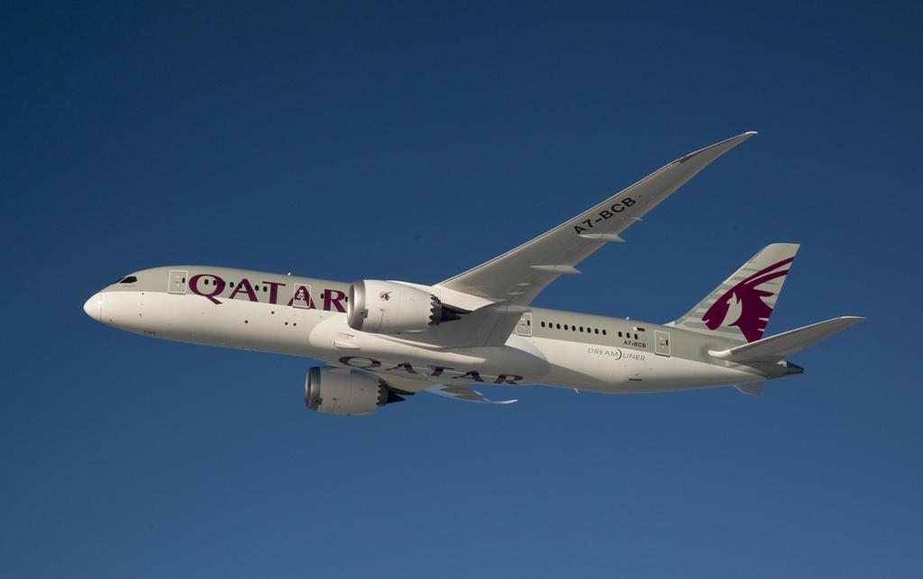 A katari flotta jelenleg 14 darab Boeing 787-8-assal rendelkezik. (Fotó: Qatar Airways)   © AIRportal.hu
