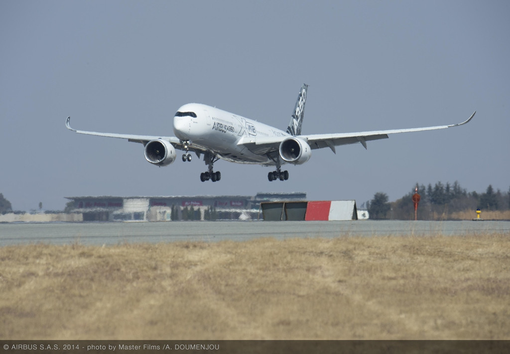 Érkezés Johannesburgba, az O.R. Tambo nemzetközi repülőtérre. (Fotó: Airbus)   © AIRportal.hu