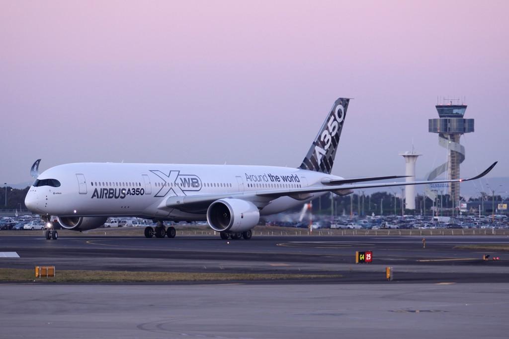 Itt pedig már Sydneyben. (Fotó: Airbus)   © AIRportal.hu