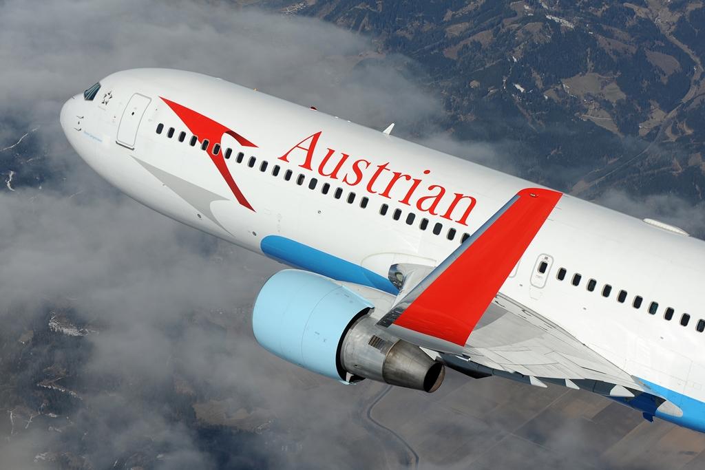 Budapesthez legközelebb Bécsből van chicagói járat. Az osztrák légitársaság két-osztályos fedélzettel üzemeltetett Boeing 767-300ER típusaival. (Fotó: Austrian Airlines) | © AIRportal.hu