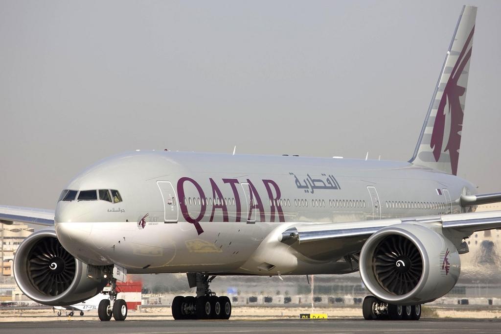 A katariaknak is van extra nagy hatótávú Boeing 777-ese, de ők inkább a hosszú törzsű, -300ER változattal repülnek Chicagóba. (Fotó: Qatar Airways) | © AIRportal.hu