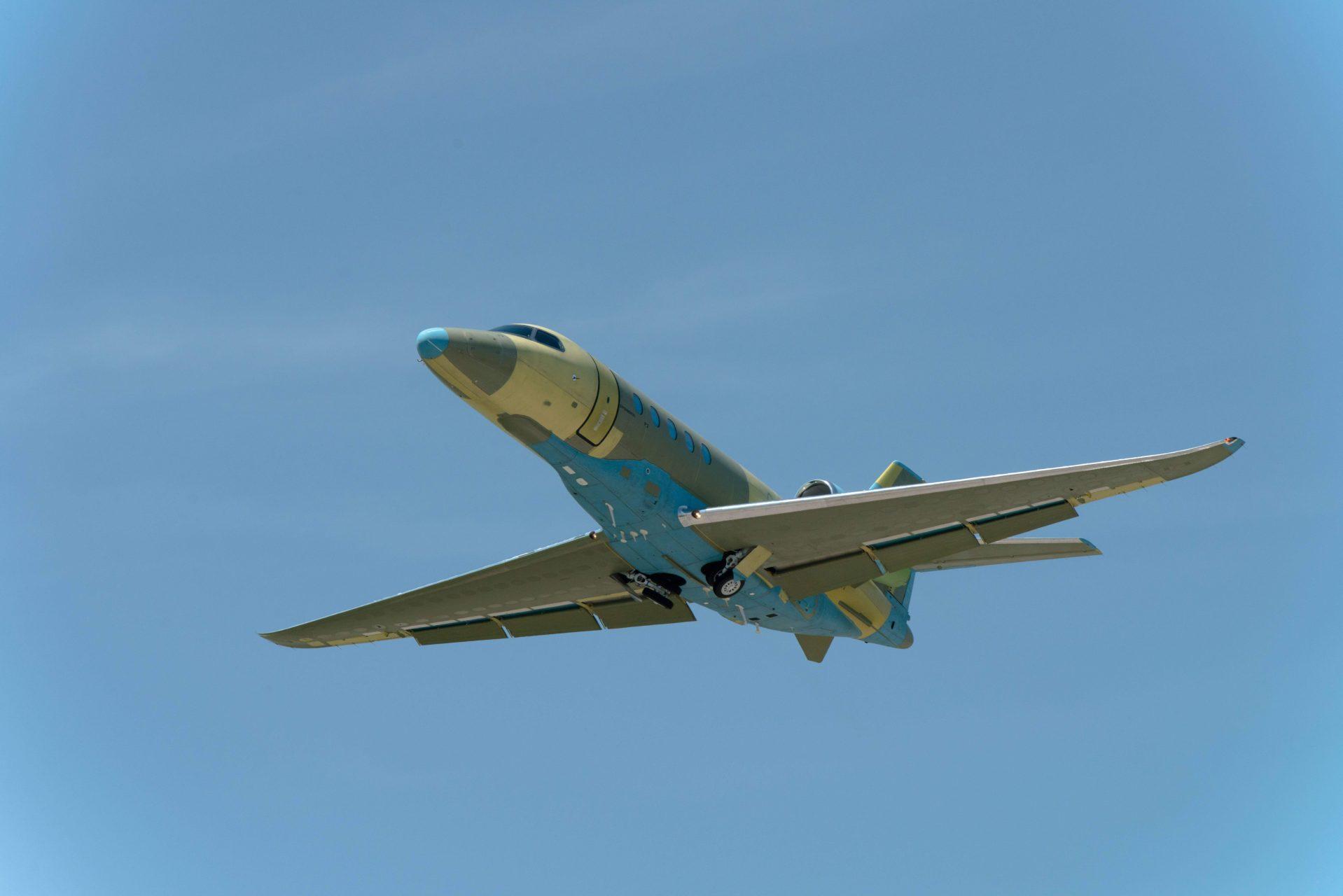 A Latitude sem járt a festőhangárban (Fotó: Cessna)   © AIRportal.hu