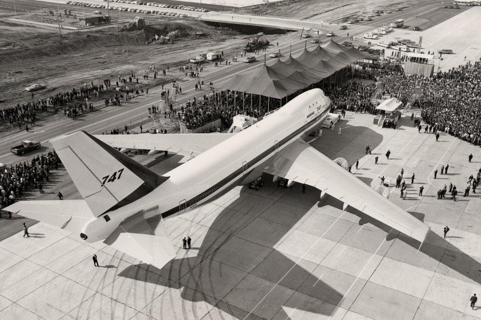 A Boeing 747-es egyik legfontosabb megrendelője a PanAm volt, amely elsőként állította szolgálatba a típust 1970-ben. (Fotó: Boeing Company)   © AIRportal.hu