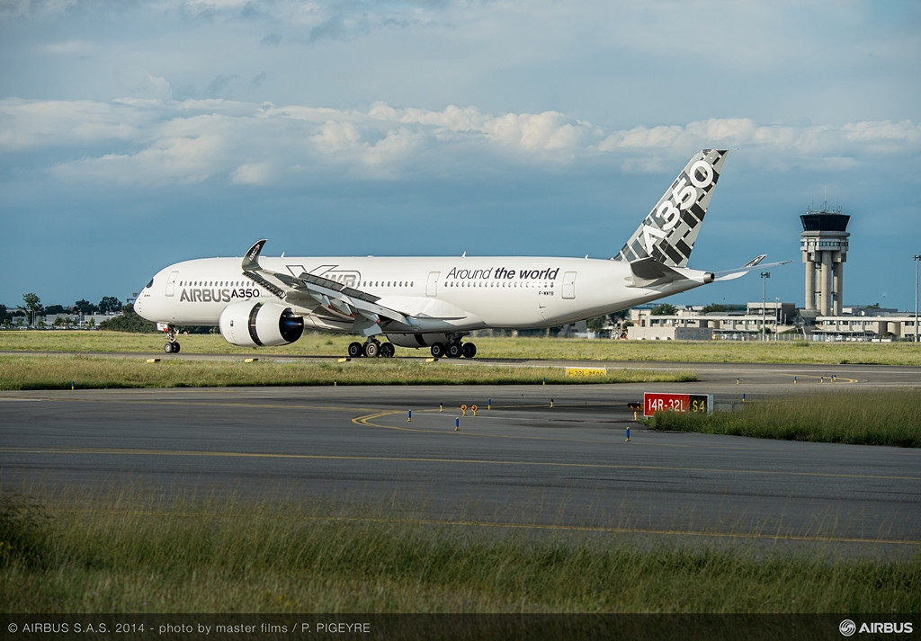 A finálé: földet érés Toulouseban, augusztus 13-án. (Fotó: Airbus) | © AIRportal.hu
