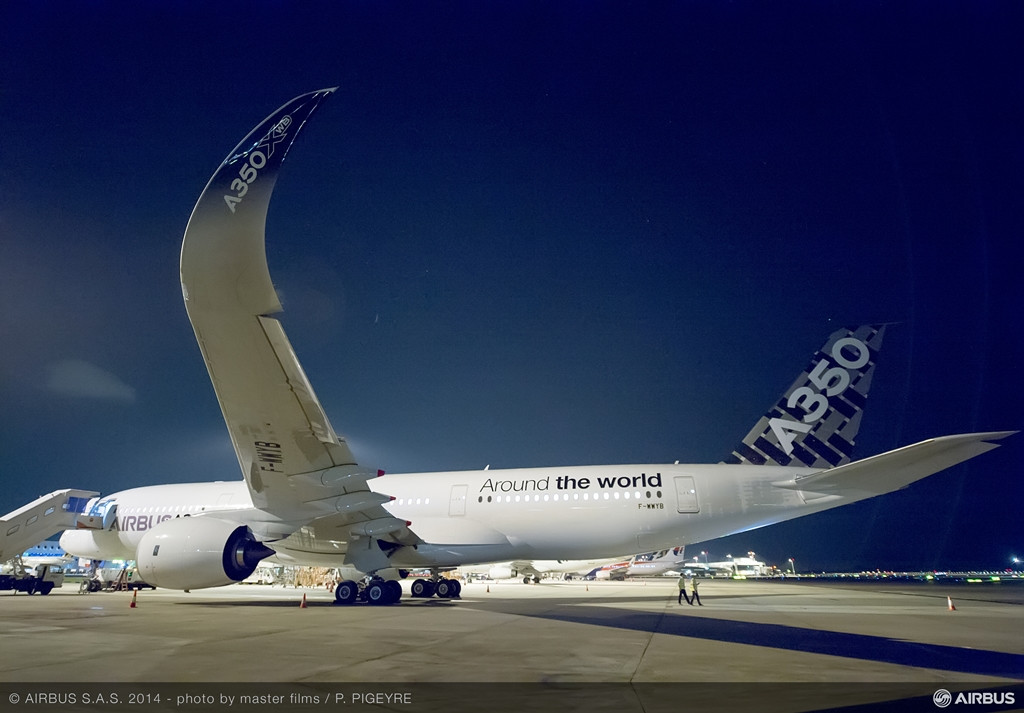 Éjszakai üzem Szingapúrban. (Fotó: Airbus) | © AIRportal.hu