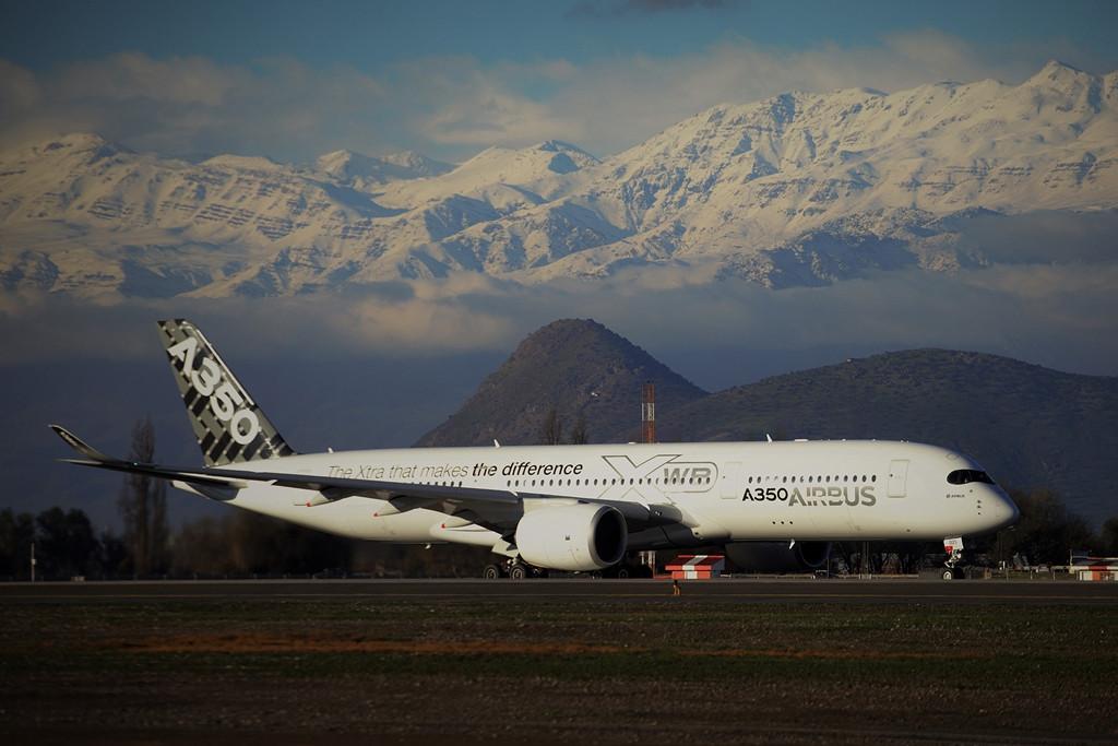 Érkezés Chilébe, az Arturo Merino Benítez nemzetközi repülőtérre. (Fotó: Airbus) | © AIRportal.hu