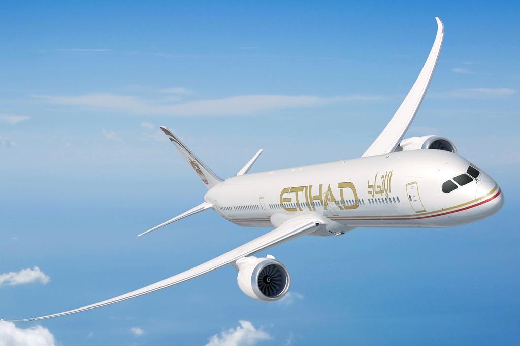 Etihad Airways Boeing 787-9. (Forrás: Etihad Airways)   © AIRportal.hu