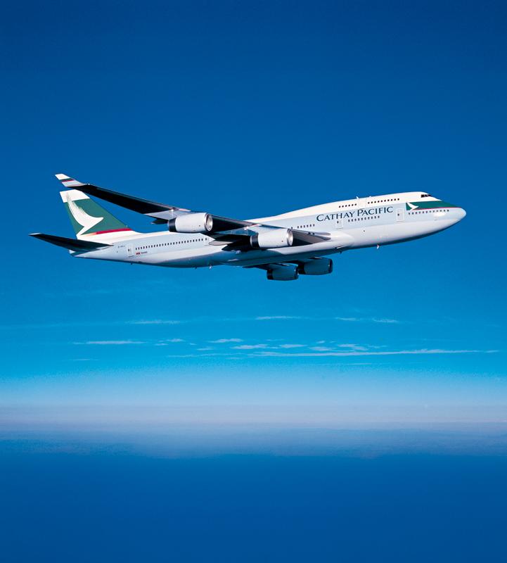 Cathay Boeing 747-400 repülés közben. (Fotó: Cathay Pacific) | © AIRportal.hu