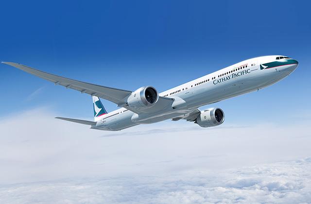 A Jumbók helyébe már most is, és hosszabb távon is a két-hajtóműves Boeing 777-300ER, és új generációs változata, a 777-9X lépnek. (Fotó: Boeing Company) | © AIRportal.hu