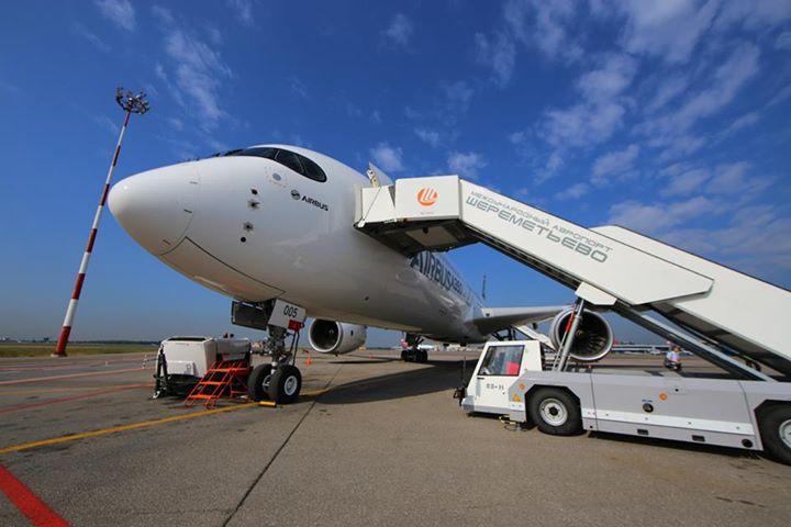 A Seremetyjevó felkészült az A350-es fogadására és indítására. Az Aeroflot viszont csak 2018-tól kezdi üzemeltetni a típust. (Fotó: Aeroflot) | © AIRportal.hu