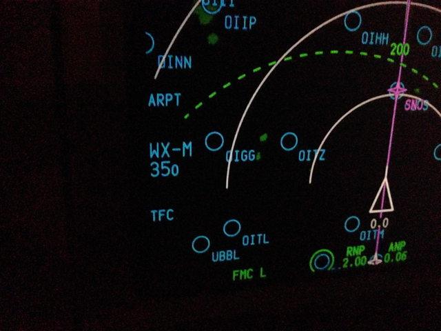 Csak egy kiválasztott repülési szint - Flight Level - a radarképének megjelenítésére is képes a radar.   © AIRportal.hu