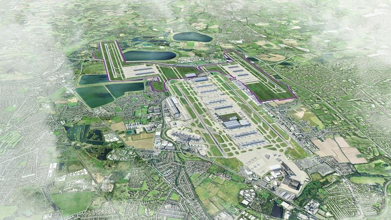 Úgy tűnik, hogy Heathrow megmenekült, hiszen a négypályás londoni légikikötő csupán látványterv marad.  (Forrás: Heathrow Airports Limited) | © AIRportal.hu