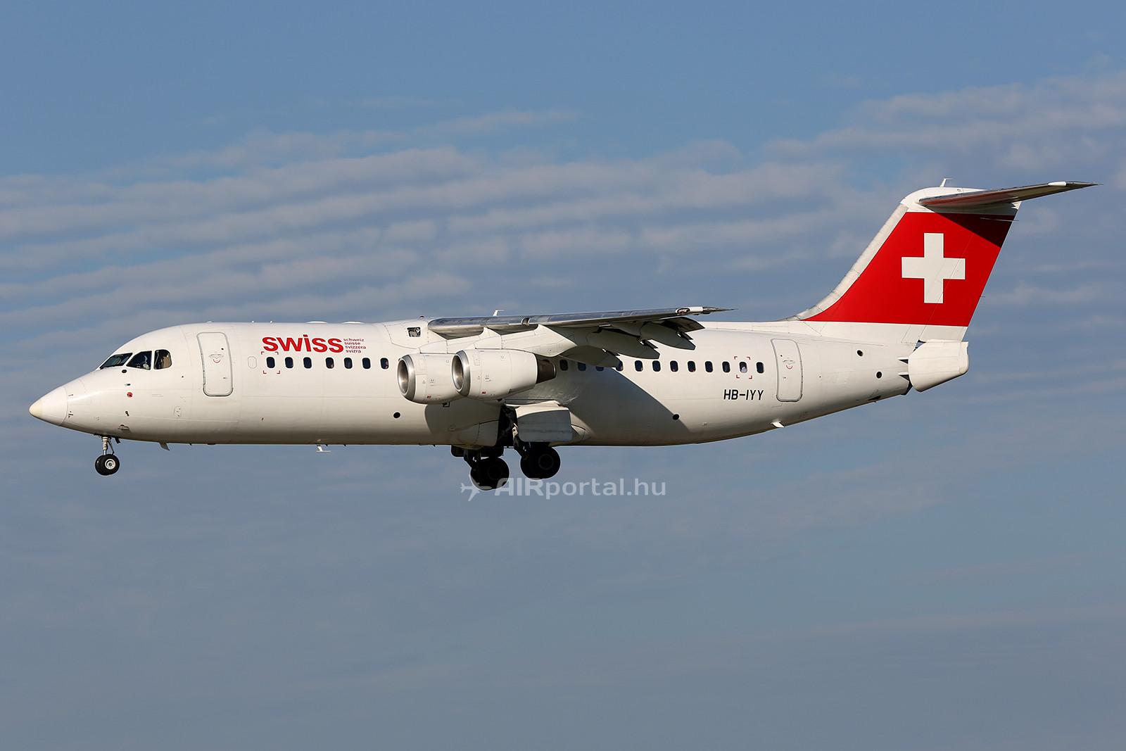 A Ferihegyen is napi rendszerességgel feltűnő svájci Avrok távozásával egy újabb különleges típus tűnik el a budapesti repülőtérről. (Fotó: AIRportal.hu) | © AIRportal.hu