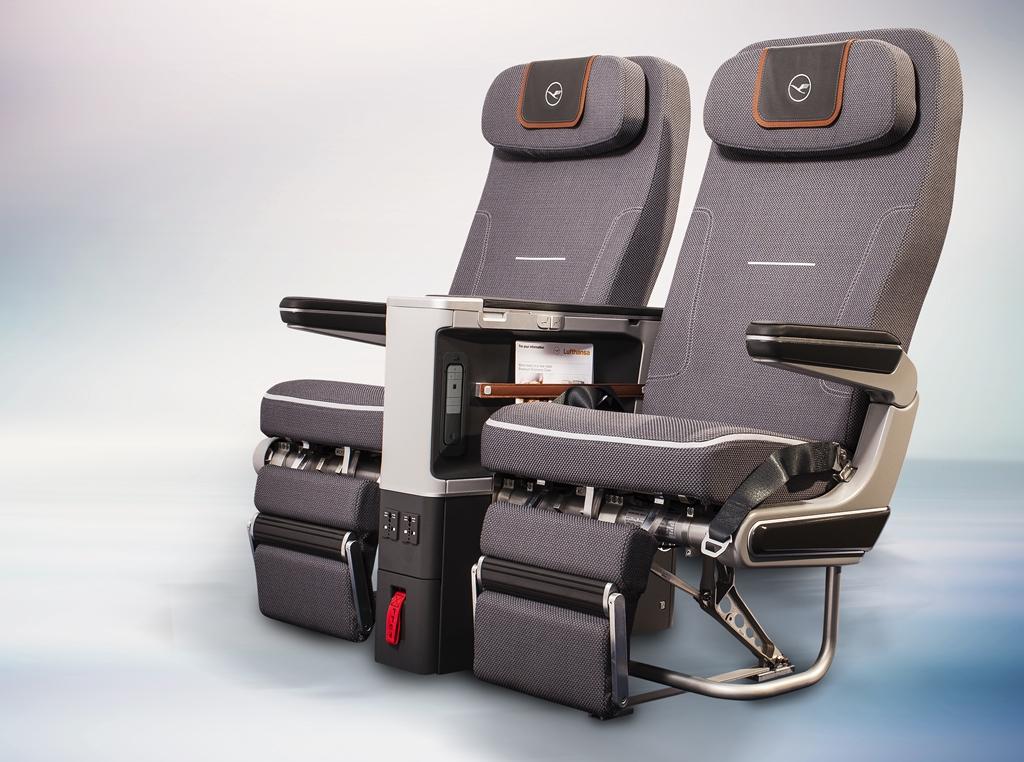 Az új prémium turista ülések. (Fotó: Lufthansa) | © AIRportal.hu