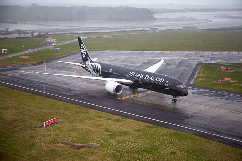 Air New Zealand Boeing 787-9 próbaüzemben. (Fotó: Air New Zealand)   © AIRportal.hu