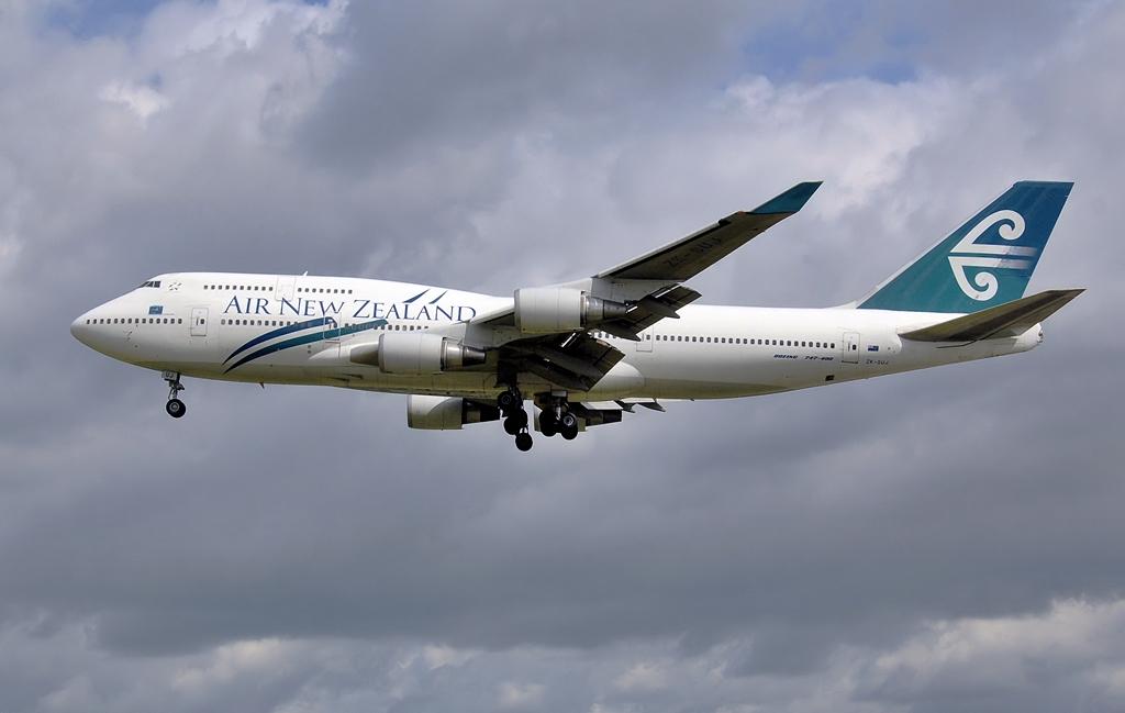 Air New Zealand Boeing 747-400 2007-ben. (Fotó: Adrian Pingstone - Wikimedia)   © AIRportal.hu