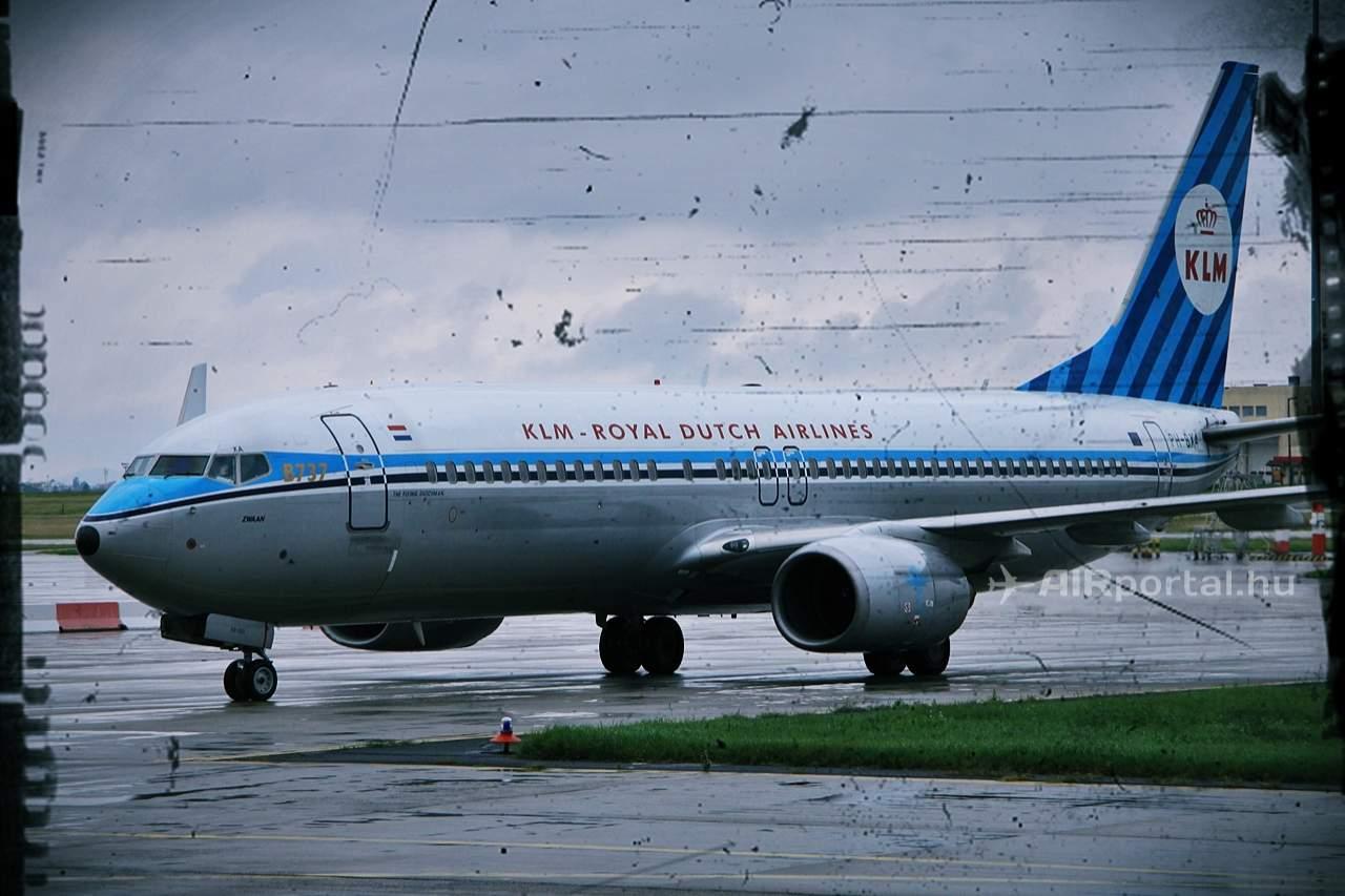 KLM retro I. (Fotó: Csemniczky Kristóf - AIRportal.hu) | © AIRportal.hu